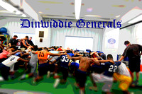 Dinwiddie Football Workouts 4-2-2015