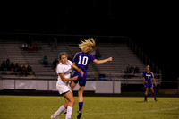 Midlothian vs James River Girls Soccer 4-27-2015