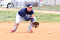 Dinwiddie vs Meadowbrook Baseball 4-30-2015