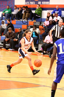 West Point vs New Kent Girls Basketball 1-31-2015