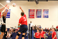 Dinwiddie vs Monacan Boys Volleyball 8-25-2015