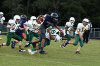 Dinwiddie vs Prince George MS Football 9-15-2015