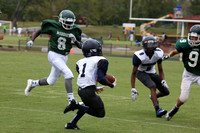 Dinwiddie vs Benedictine MS Football 9-22-2015
