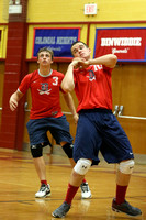 Dinwiddie vs Petersburg Boys Volleyball 10-1-2015