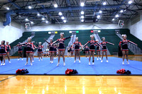 Dinwiddie at Conference 20 Cheer Championship