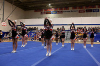 Monacan at 2015 4A East Regional Cheer