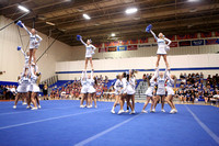 Hanover at 2015 4A East Regional Cheer