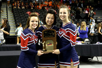 State Cheer Championships 2A 3A 4A Award Ceremony 11-09-2013