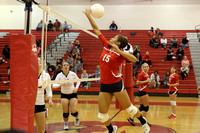 Dinwiddie at Matoaca Girls Volleyball 9-26-2013