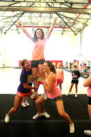 Dinwiddie Youth Cheer Camp Day 1