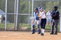 Dinwiddie vs Hopewell Girls Softball 4-24-2014
