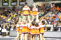 William Byrd High School Cheering Championships 11-09-2013