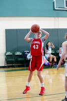St Edwards (Lower) vs  St Marys Girls MS Basketball 2-15-2015