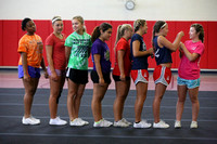 Dinwiddie Cheer Choreography Camp 8-9-2014