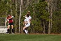 St Catherines vs St Anne - Belfield Girls Soccer 3-29-2018