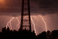 Cell Tower Lightning 5-03-2012