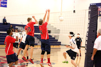 Dinwiddie vs Colonial Heights Boys Volleyball 10-10-2013