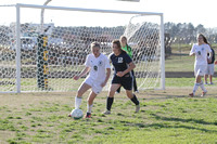 Dinwiddie vs Prince George Girls Soccer 4-10-2014