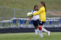 Dinwiddie vs Colonial Heights Girls Soccer 5-6-2014