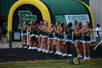 Prince George vs Clover Hill Football 9-1-2016