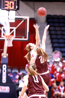 Fordham vs Dayton A-10 Women's Basketball Tournament Championship 3-9-2014