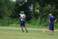 Dinwiddie Football Practice 8-9-2014