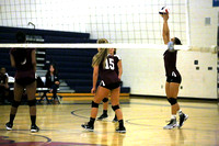 Dinwiddie vs Thomas Dale Girls and Boys Varsity Volleyball 9-20-2016