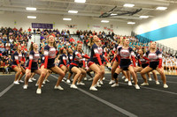 4A South Region Cheer Championships 11-1-2014