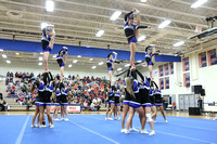 Deep Run 5A South Region Cheer Championship 11-1-2014