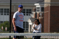Dinwiddie vs Hopewell Boys Tennis 4-24-2014