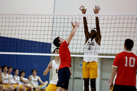 Midlothian vs Dinwiddie Boys Volleyball 10-31-2016