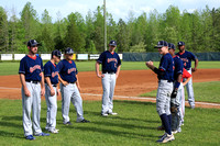 2014-05-01 Dinwiddie vs Meadowbrook Boys Baseball