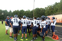 Dinwiddie JV vs Monacan Football 8-28-2014