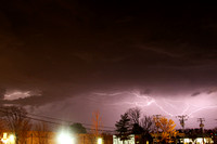Lightning over Broad Street  3-21-2012