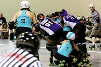 Rivercity Roller Girls vs the Dominion Derbygirls and the Palmetto State Rollergirls