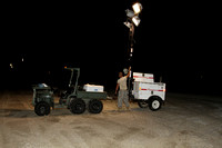 Gulf Oil Spill Grand Isle Night Ops