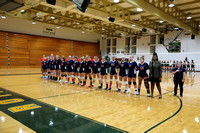 Dinwiddie vs Prince George Volleyball 9-12-2017