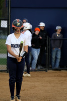 Dinwiddie vs Thomas Dale Softball 4-6-2017