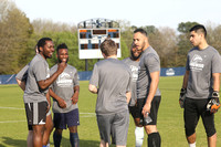 Longwood vs Alumni Mens Soccer 4-14-2018