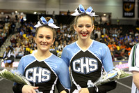 Cosby State Cheering Championship 11-8-2014