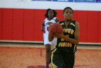 Dinwiddie vs Prince George Girls B-Ball JV and Varsity  12-19-13