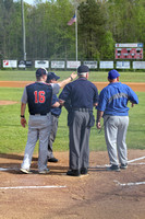 Dinwiddie vs Hopewell Boys Baseball 4-24-2014