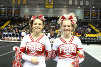 Franklin County State Cheering Championship 11-8-2014