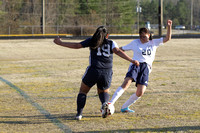 Dinwiddie vs Meadowbrook Girls Soccer 4-1-2014