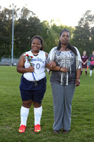 Dinwiddie Girls Soccer Senior Night 4-28-2015