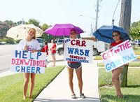 Dinwiddie Cheer Car Wash 7-22-2017